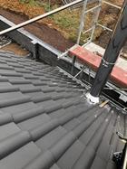 Dachdurchführung von oben