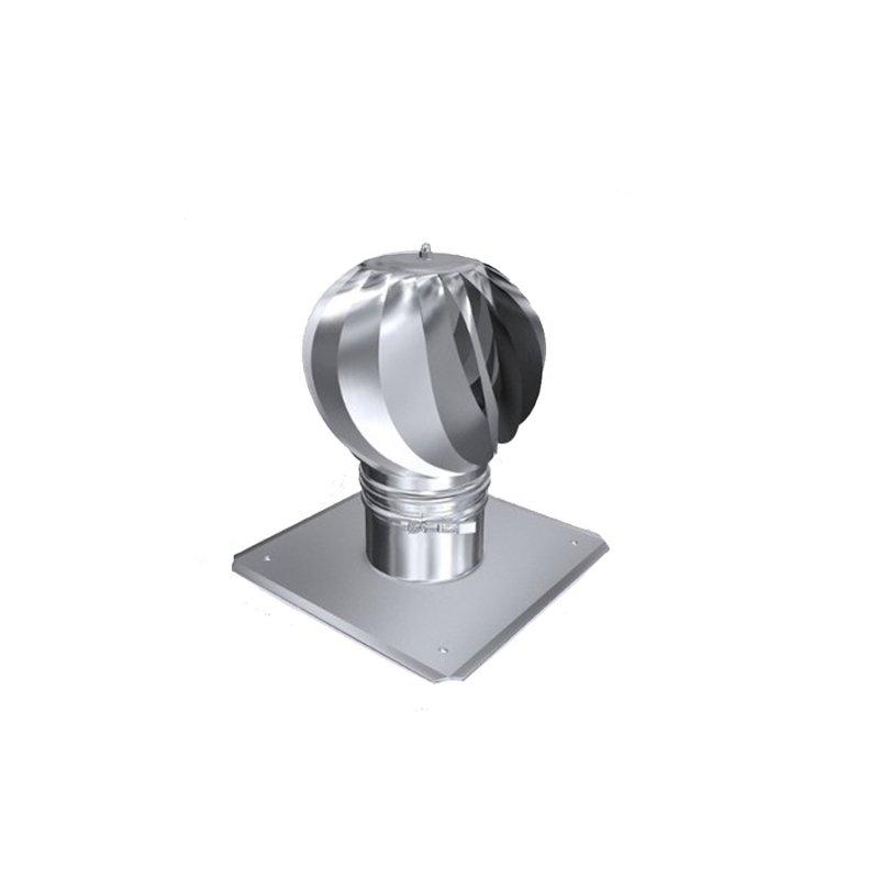 zugverbesserer schornsteinaufsatz turbine mit ankerplatte 11. Black Bedroom Furniture Sets. Home Design Ideas