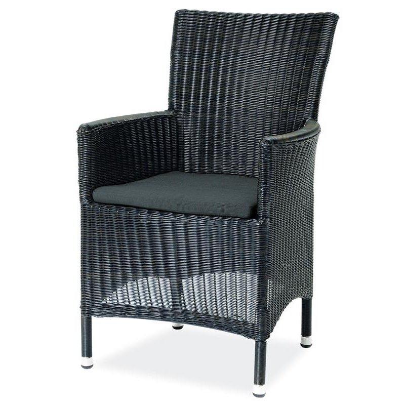 gartenm bel belardo astena sessel schwarz 145 00. Black Bedroom Furniture Sets. Home Design Ideas