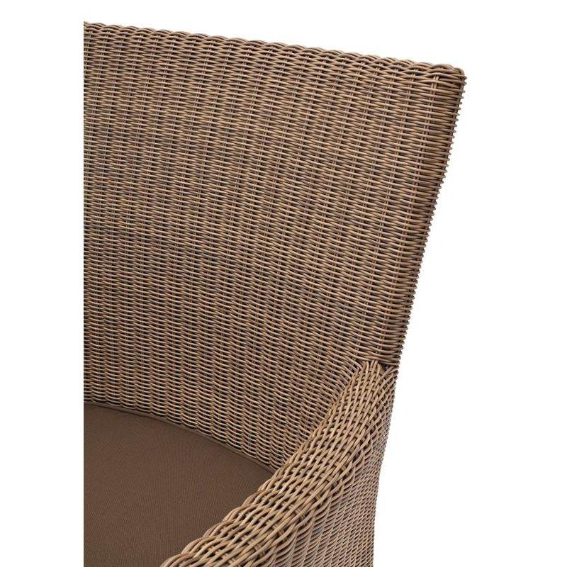 gartenm bel belardo astena sessel braun 155 00. Black Bedroom Furniture Sets. Home Design Ideas