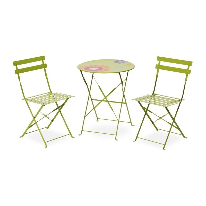 gartenm bel belardo levana bistro set apple green 98 00. Black Bedroom Furniture Sets. Home Design Ideas
