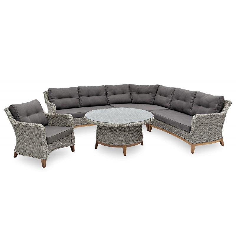gartenm bel belardo lithosia lounge set 4 teilig. Black Bedroom Furniture Sets. Home Design Ideas