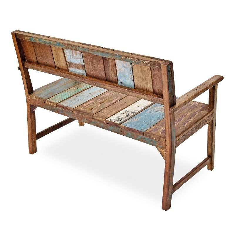gartenm bel belardo seriata fish boat bank fsc zertifiziert 24. Black Bedroom Furniture Sets. Home Design Ideas