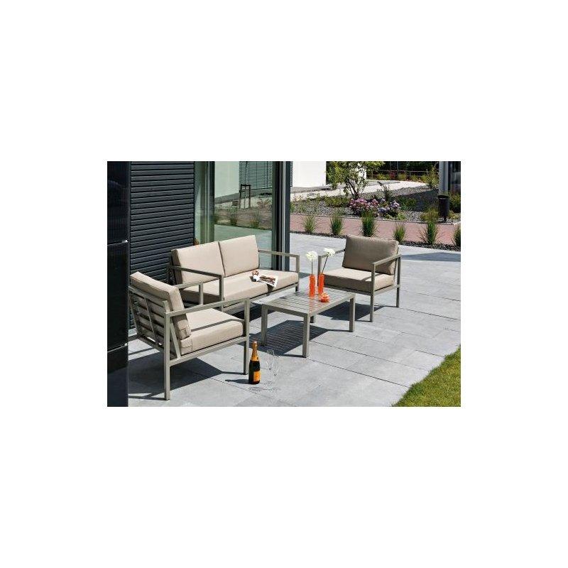 gartenm bel belardo sitzgruppe macaria inkl sitz und r ck. Black Bedroom Furniture Sets. Home Design Ideas