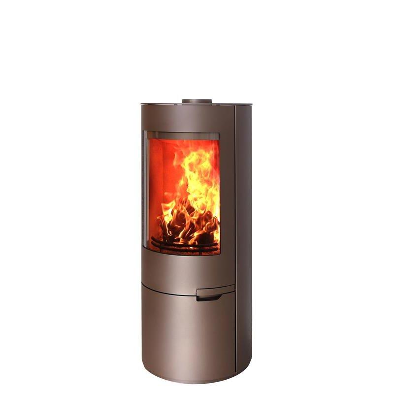 Wundervoll Kaminofen Ofen EVO Stahl braun 7 kW, 1.650,00 € XU58