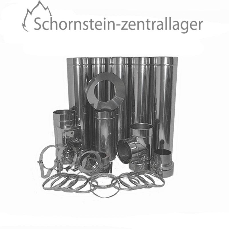 schornstein bausatz dw 250 mm h he 6 7 m basic 0 5 mm. Black Bedroom Furniture Sets. Home Design Ideas