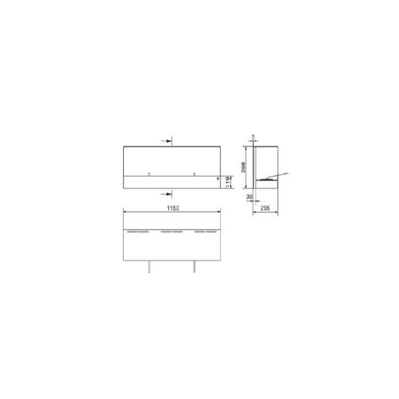 Terrassenfeuer bioethanolfeuer box schwarz gartendeko 653 for Gartendeko reduziert