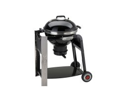 Grill Holzkohlegrill Smoker Black Pearl Serie Kugelgrill...